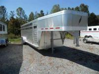 This is the daddy of all cattle trailers. Brand new