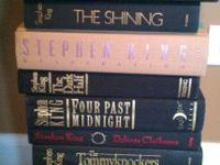 10 hard cover Stephen King booksSuperb condition!!The