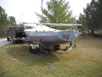 Please call owner Jerome at . Boat is in Lincoln,