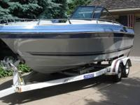 Please call owner George at . Boat is in Bloomington,