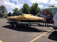 Please call owner Bill at . Boat is in Silt, Colorado.