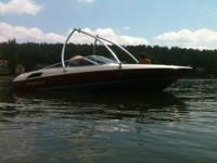 Please call owner Johnny at . Boat is in Russellville,