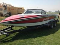 Please call owner Kevin at . Boat is at Moses Lake,