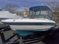 This 1993 Sea Ray bow rider is a perfect family boat.