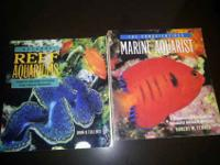 Two like new aquarium books. Natural Reef Aquariums by