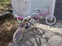 I have two to choose from- both are kid girl bikes with
