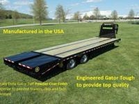 2017 20 + 5 Dual Tandem Elite Gooseneck TrailerRated @