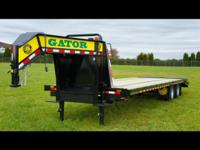 (502) 563-1243 GOOSENECK TRAILERS BY GATORMADE #1 BY