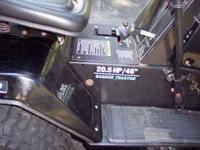20.5 HP Briggs and Stratton motor.. Statesman Yard
