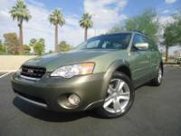 This one owner 2006 Subaru Outback 3.0 R L.L. Bean