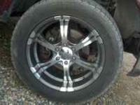 I have a set of 20'' wheels tires almost new tires