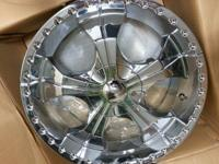 I have a set of four 20 inch chrome wheels brand new in