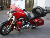 '07 Screamin' Eagle CVO Electra Glide Ultra Classic.