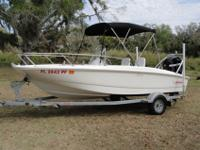 NEW BOAT ONLY BETTER!!! BARELY USED ONLY 12 HOURS ON