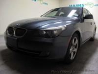 2008 BMW five SERIES four DOOR SEDAN 535XI AWD SEDAN,
