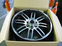 We have available a set of 4 used American Racing AR901