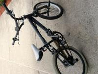 "Avico 20"" bike with some paint spray on body asking $60"