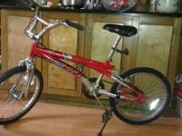 "Two 20"" BMX style bikes in excellent working condition,"