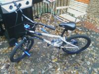 "20"" Boys Ambush Freestyle Bike for sale.Great Christmas"