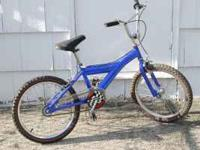 My son out grew his bike several years ago & now needs