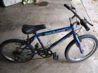 "I have a smaller 20"" boys mountain bike for sale...."