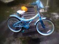 "20"" Bratz Girl Shimmery Blue Bike $75 OBO 1- New Bike/3"