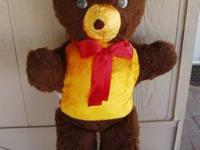 Unisex new teddy bear, size 3 1/2 ft or 42 inches tall