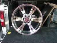Up for sale wheel/tires combo. Wheels are 20x10 Prova