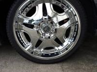 "I have a set/four of 20"" Twenty Inch Strong chrome rims"