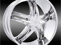 I've got a set of Massive 910 Chrome wheels brand new