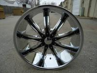 20X8.5 5X114.3 AND 5X112 +35 OFFSET BRAND NEW WHEELS