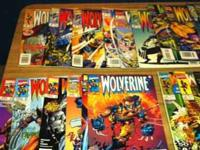 44 comic books in all wolverine 41 thu 44