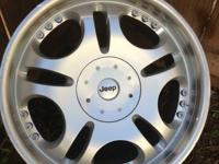 4 wonderful condition aftermarket rims. 5 lug pattern.