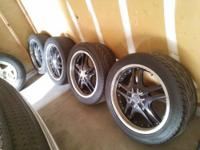 20' custom wheels and tires in very good condition.