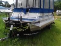 1988 Maurell Products-Crestline-Crest lll-Pontoon.
