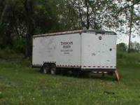 20ft enclosed Wells Cargo enclosed CARGO trailer INFO