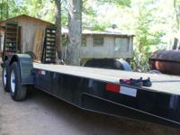 Brand new 2012 20' equipment trailer, 10,400 lb
