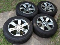 "I have a set of Ford F150 20"" OEM stock wheels with"
