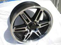 "20"" F38 Fugitive Black and Machined Wheels offroad"