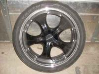 "A good used set of 20"" Falken wheels with Ventus"
