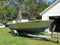 20 foot Seacraft Center Console    $7200     1978