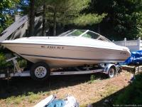 20.5 foot SeaRay cuddy cabin boat for sale.  Great