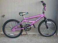 "Mongoose FreeStyle Girl 20"" BMX Freewheel Bike Dual"
