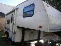 20 FT 5TH WHEEL TRAILER SELF-CONTAINED SLEEP 5 VERY