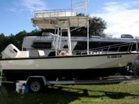 20 ft Boston whaler outrage outriggers downriggers 35