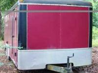 This is a excellent condition 20 ft cargo trailer