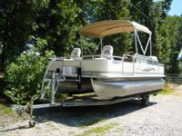 2005 SunChaser Pontoon by Sylvan - 20 Ft.  2006 Yamaha