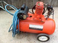 Belt Drive, Roll-A-Round, Air Compressor 220 Volt,