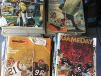 Several Pro and Gameday football magazines for sale.