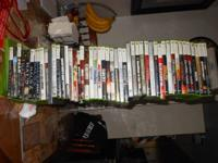 Selling 20 gig xbox 360 with around 50 video games. All